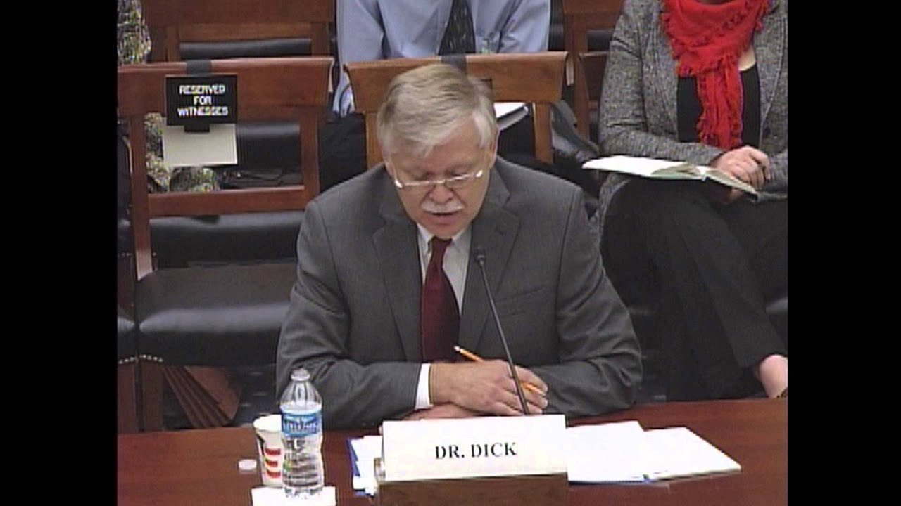 2013 12 04 Dr Steven Dick Testimony Youtube