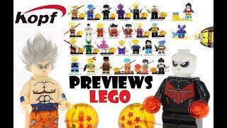 Previews : Lego`s Dragon Ball !!!