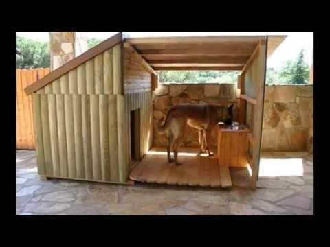 Симпатичные будки для собак