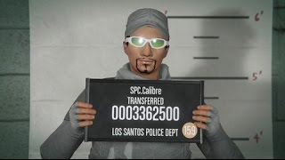 GTA V (Online Short Film Test)-My character: SPC.Calibre