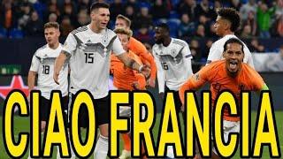 GERMANIA-OLANDA 2-2 - La Francia a caaaasaaa!!