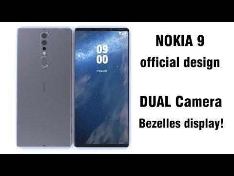 Nokia 9 official design!!??