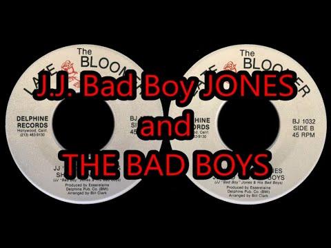 J.J. bad boy JONES she's gone blues / jj and the bad boys 1990