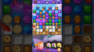 Candy Crush FRIENDS Saga level 68 no boosters