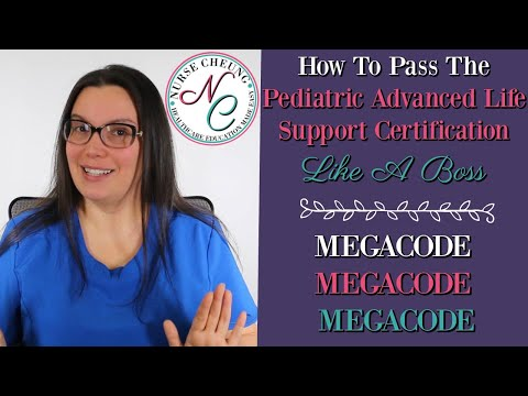 HOW TO PASS THE PEDIATRIC ADVANCED LIFE SUPPORT CERT (PALS) LIKE A BOSS | MEGA CODE SCENARIOS