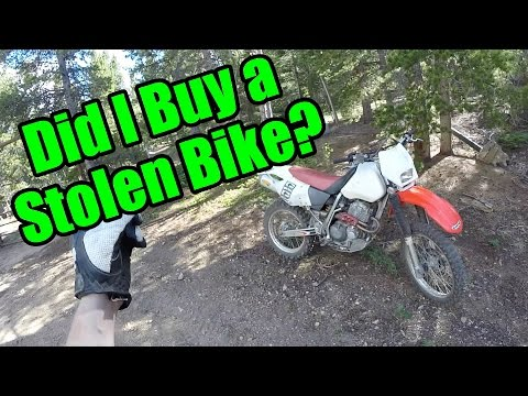 Did I Buy A Stolen Bike? Bonded Title Process Colorado