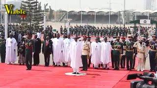 Remembrance Day : How Buhari, Osinbajo, Saraki, Dogara, Onnoghen Lay Wreaths For Fallen Heroes