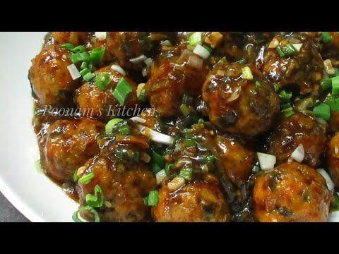 Download Youtube: Veg Manchurian Dry Recipe - Chinese starter Veg Manchurian Recipe - Dry Manchurian Recipe in Hindi