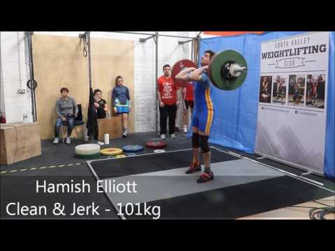 Weightlifting Scotland Eastern District Championships 2016
