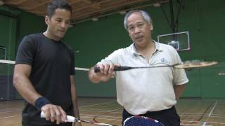 Badminton Tips : How to Hold a Badminton Racket