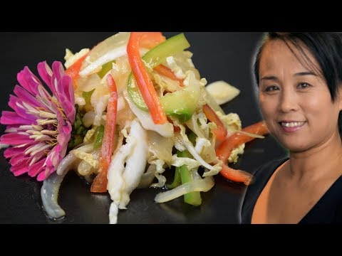 Jellyfish Salad - Chinese Style Cooking Recipe