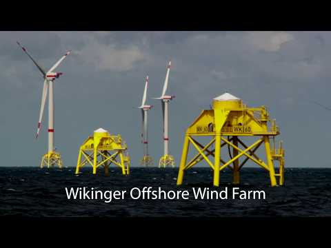 Wikinger Offshore Wind Farm Installation - short