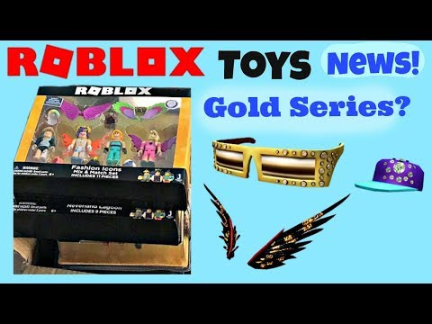 Roblox Toys & Codes, Gold Celebrity Series, News, Sneak Peek