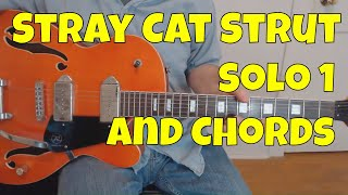 Stray Cat Strut, First Solo (Guitar Lesson with TAB)