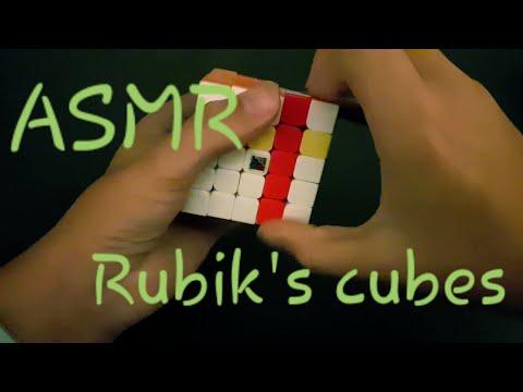ASMR - Rubik's cubes partie 1