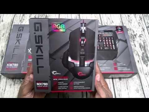 G.SKILL Ripjaws KM780 Mechanical Gaming Keyboard / MX780 Gaming Mouse