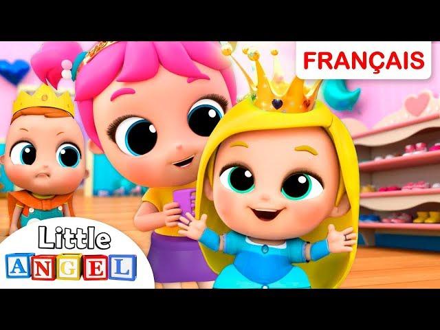 Comptines Princesse Cendrillon et Les Petites Princesses   Chansons pour Enfants