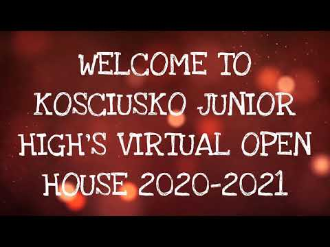Kosciusko Junior High School 7th Grade Virtual Open House