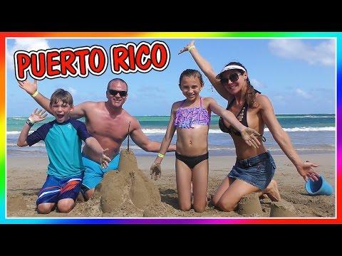 BUILDING SAND CASTLES IN PUERTO RICO | DAVISES VACATION