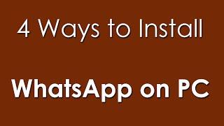 Gambar cover 4 Ways to Download WhatsApp for PC & FAQ's