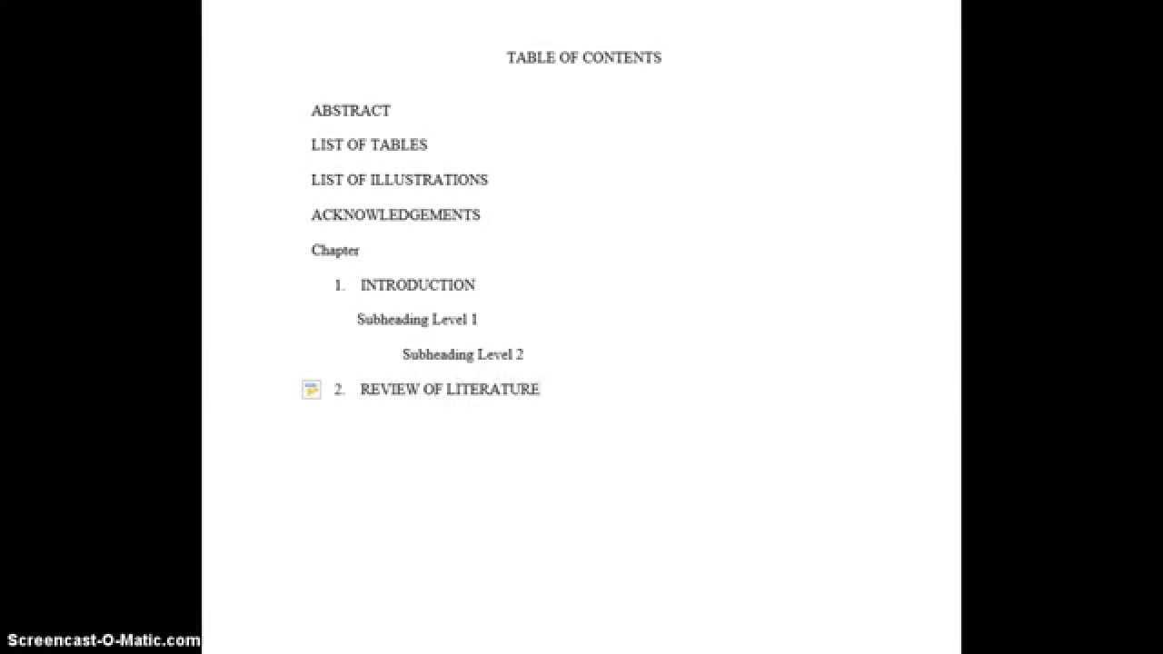 Dissertation forms