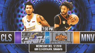 CLS Knights Indonesia v Mono Vampire   LIVE NOW   2018-2019 ASEAN Basketball League