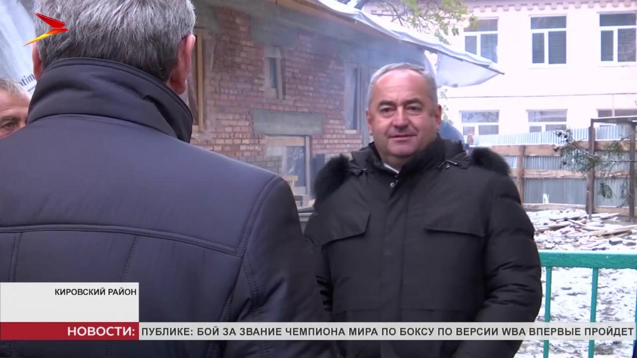 Таймураз Тускаев проверил ход строительства важных социальных объектов