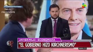 Javier Milei en Intratables- 17/05/19