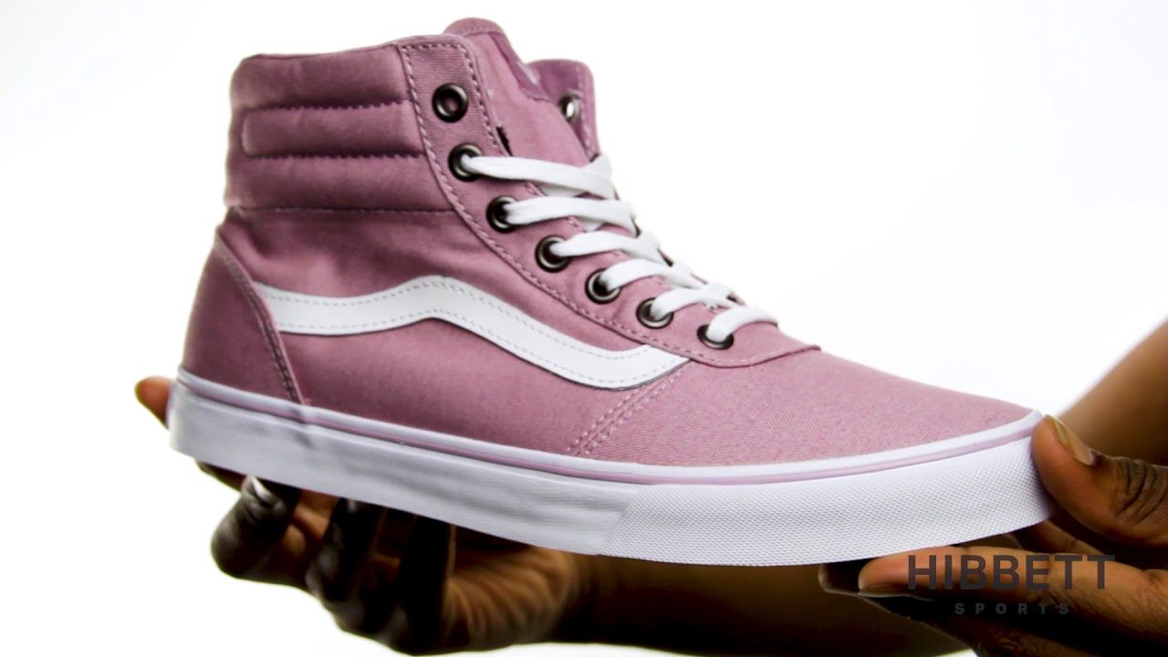 4654587049 Womens Vans Milton High Top - YouTube