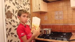 Летс кук | Как приготовить манную кашу | Lets cook