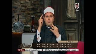 المسلمون يتساءلون - الشيخ حازم جلال : يجاوب على اتصال هاتفيا