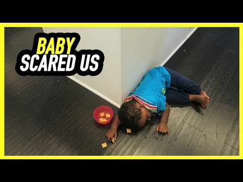 BABY SCARED US!