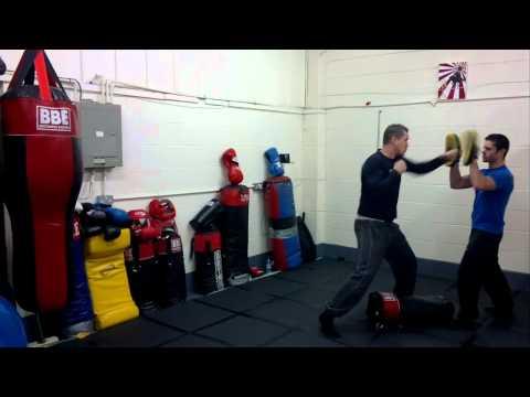Steve Quinn - Human Weapon Reality Krav Maga Training
