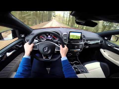 Mercedes GLE Coupe 450 AMG 4Matic 367HP POV test drive GoPro