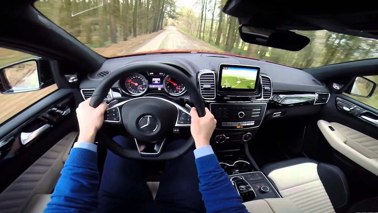 mercedes gle coupe 450 amg 4matic 367hp pov test drive gopro - youtube