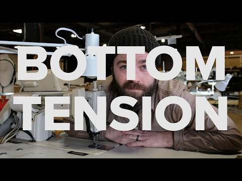 How To Adjust Bottom Tension on a Sewing Machine | SEWING WITH STEVE!