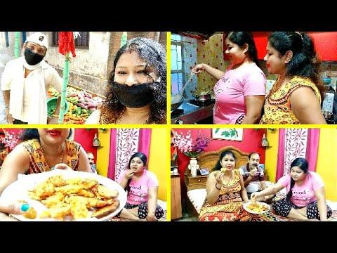 Simran এর বায়নাতে বানালাম এই স্পেশাল স্নাক্স (Snacks)🍡🍢💕 Bengali Vlog