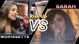 RISE UP (Sarah G VS Morissette): WHO SANG IT BETTER?