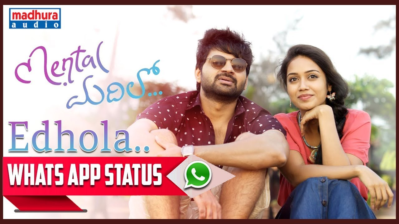 Best WhatsApp Status Edhola || Mental Madhilo || Sree Vishnu || Nivetha Pethuraj || Raj Kandukuri