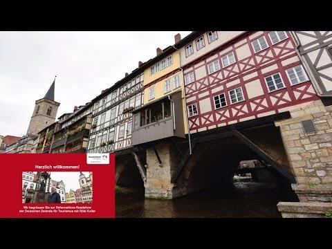 Luther 500 Jahre Reformation - DZT Roadshow Röbi Koller - Video 3 Erfurt