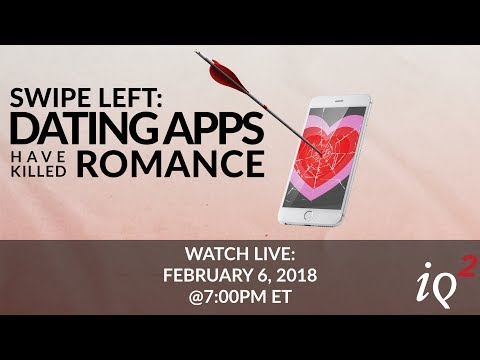 Dating apps killed romance