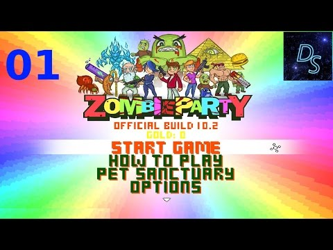 Zombie Party Gameplay - Awesome Guns! |