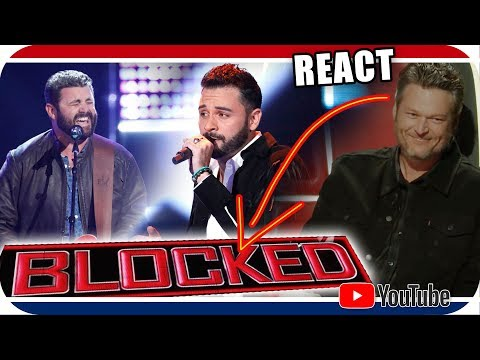 JURADO BLOQUEADO NO The Voice 2018 Blind Audition - Pryor Baird & Justin Kilgore BLACKE SHELTON