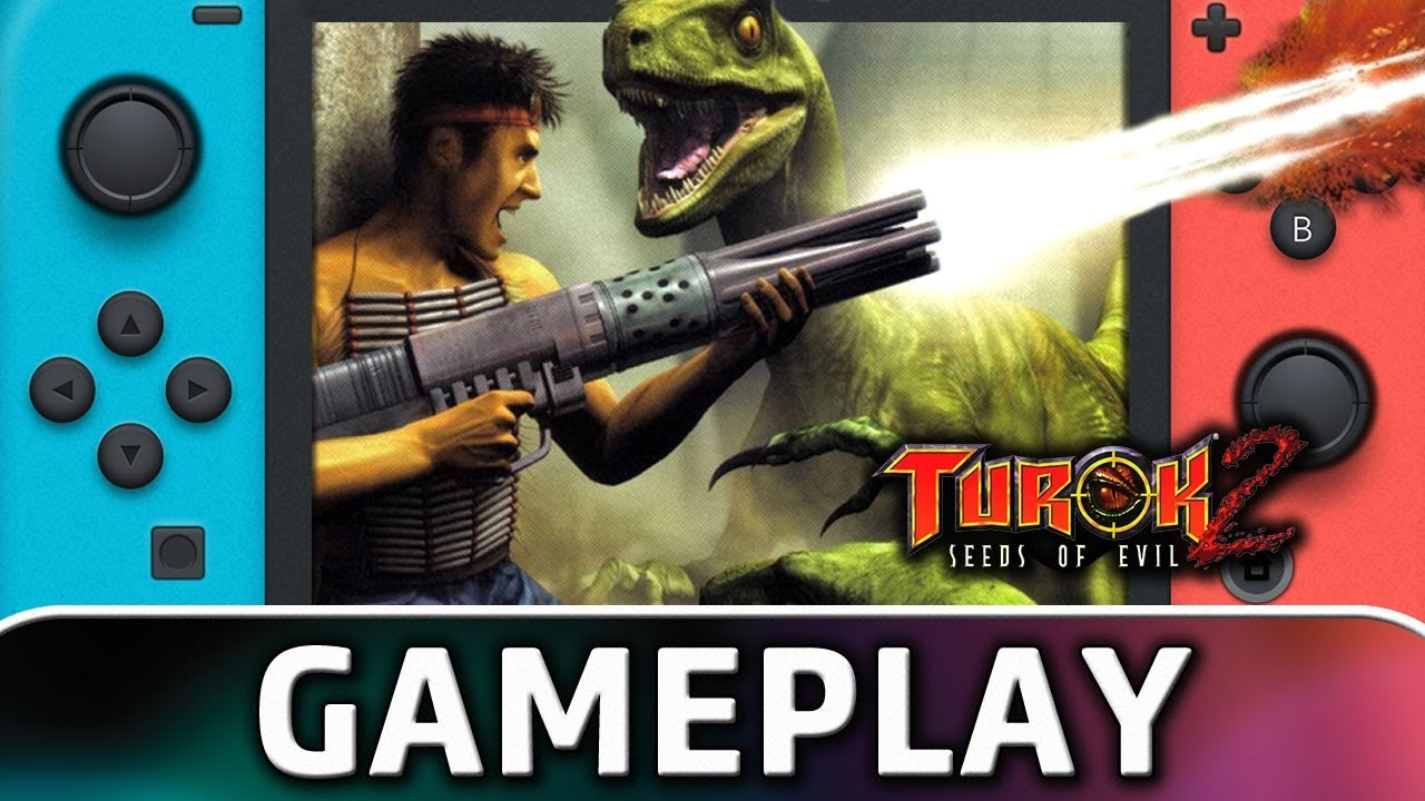 Turok 2: Seeds of Evil | First 20 Minutes on Nintendo Switch
