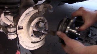 jeep front hub replacment by bsf recovery team