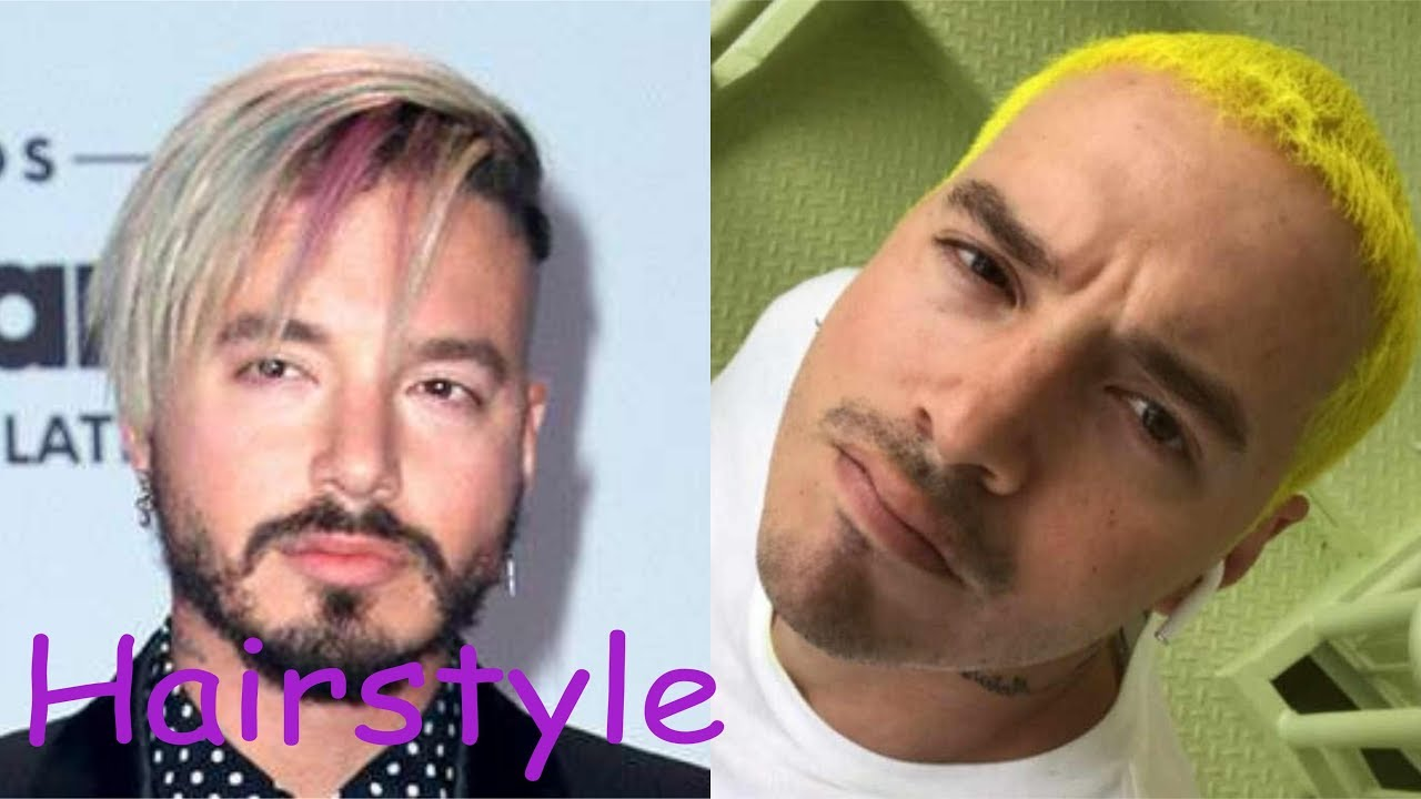 J Balvin Hairstyle 2018 Youtube