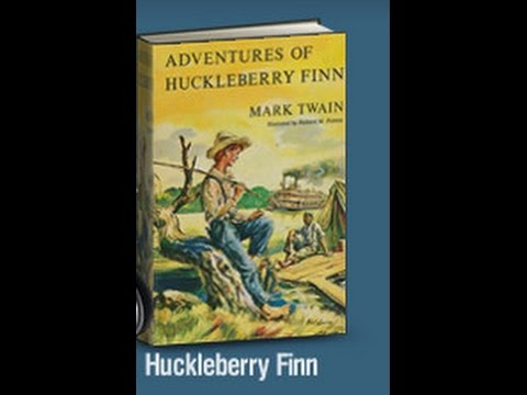 Learn English through story - THE ADVENTURES OF HUCKLEBERRY FINN by Mark Twain