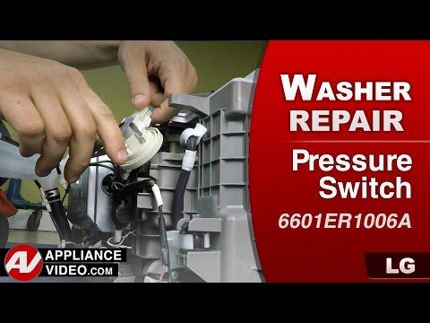 LG - Pedestal Washer – PE error code – Pressure Switch