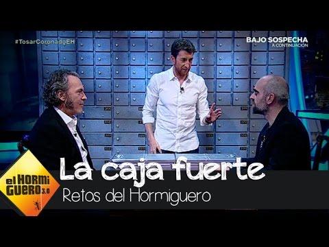 Quien no arriesga no... ¿gana? Con José Coronado y Luis Tosar  El Hormiguero 3.0