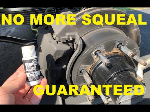 The REAL how to stop squeaky/noisey brakes in 5 minutes. No more squeaking/squealing guaranteed